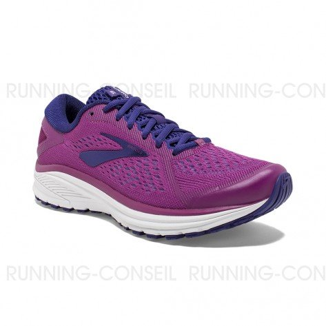 BROOKS ADURO 6 FEMME | ASTER/PURPLE/WHITE | Collection Printemps-Été 2019