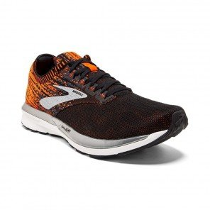 BROOKS RICOCHET Homme Black/Orange/Ebony  | Collection Automne Hiver 2018
