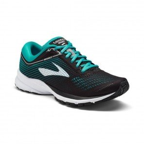 BROOKS LAUNCH 5 Femme Black/Teal Green/White | Collection Automne Hiver 2018