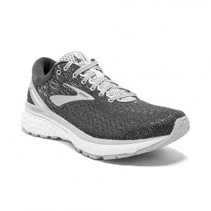 BROOKS GHOST 11 Femme - Ebony/Grey/Silver Automne Hiver 2018