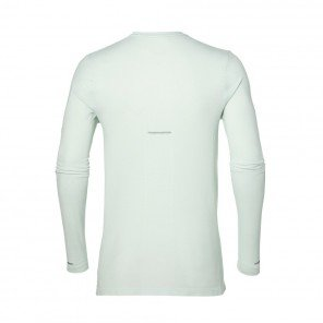 ASICS Tee-shirt manches longues Seamless LS Homme Blanc