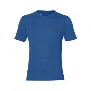 ASICS Tee-shirt Silver Homme | Race Blue | Collection Automne Hiver 2018
