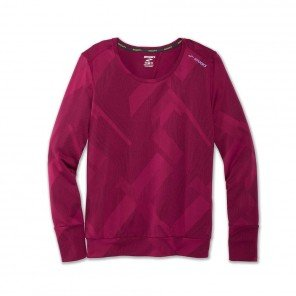 BROOS Tee-shirt Array Manches Longues Femme