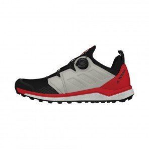 ADIDAS TERREX AGRAVIC BOA HOMME | CORE BLACK / FTWR WHITE / ACTIVE RED