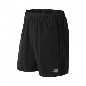 NEW BALANCE Short Accelerate 7 Inch Homme Black Face