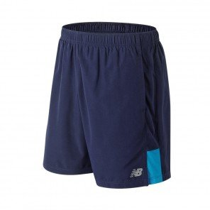 NEW BALANCE Short Accelerate 7 Inch Homme Pigment with Maldive Blue Face