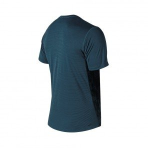 NEW BALANCE Tee-shirt manches courtes Printed Max intensity V2 Homme Northsea
