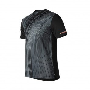 NEW BALANCE Tee-shirt manches courtes Printed 2.0 Homme Black Face