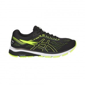 ASICS GT-1000 7 HOMME | BLACK / HAZARD GREEN