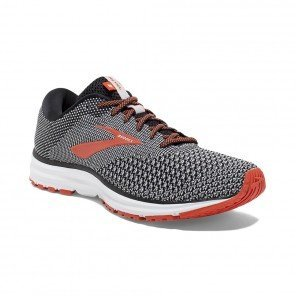 BROOKS REVEL 2 HOMME | BLACK/LIGHT GREY/ORANGE | Collection Printemps-Été 2019