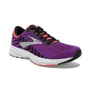 BROOKS LAUNCH 6 FEMME | GREY/BLACK/PURPLE | Collection Printemps-Été 2019
