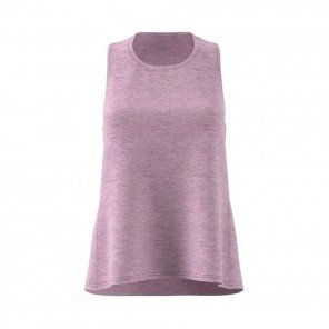 ADIDAS Débardeur Response Light Speed Tank Femme Rose aero Face