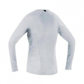 GORE® BASE LAYER MAILLOT MANCHES LONGUES FEMME | WHITE