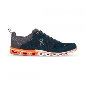 ON RUNNING Cloudflow Homme Rock / Orange Profil Extérieur