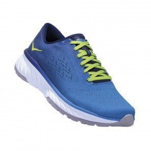 HOKA CAVU 2 HOMME | FRENCH BLUE / LIME GREEN | Collection Printemps-Été 2019