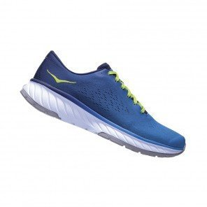 HOKA CAVU 2 HOMME | FRENCH BLUE / LIME GREEN