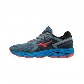 MIZUNO WAVE ULTIMA 10 Femme Blue Mirage/Fiery Coral/Diva Blue | Collection Automne Hiver 2018