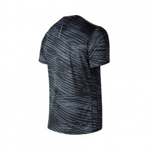 NEW BALANCE Tee-Shirt manches courtes PRINTED ACCELERATE Homme   Black and White
